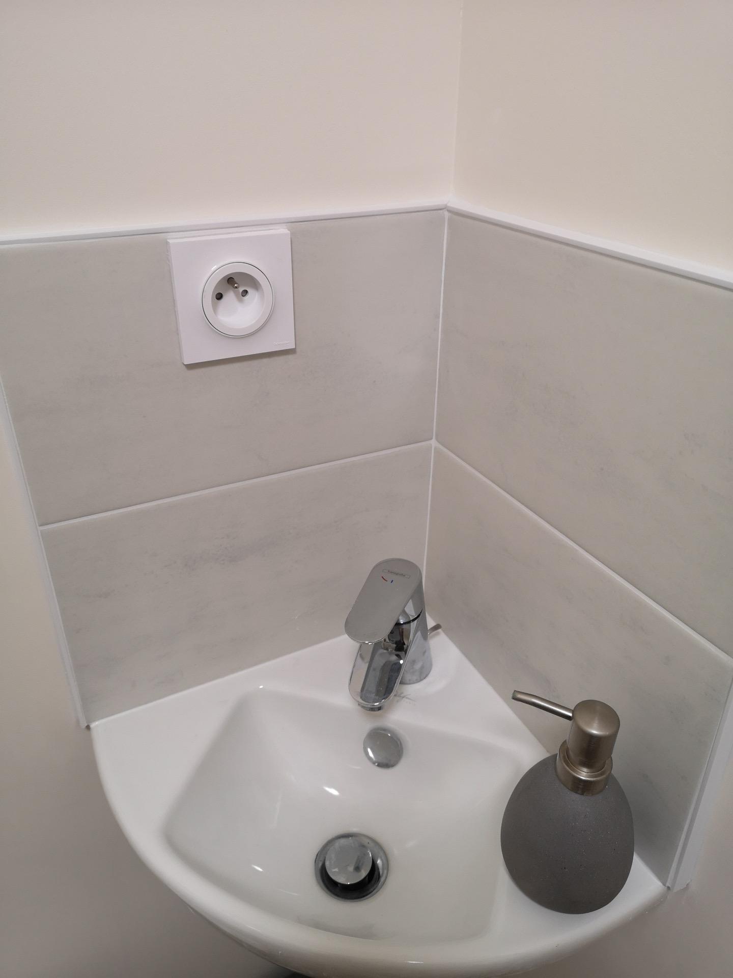 creation d'un toilette type pmr
