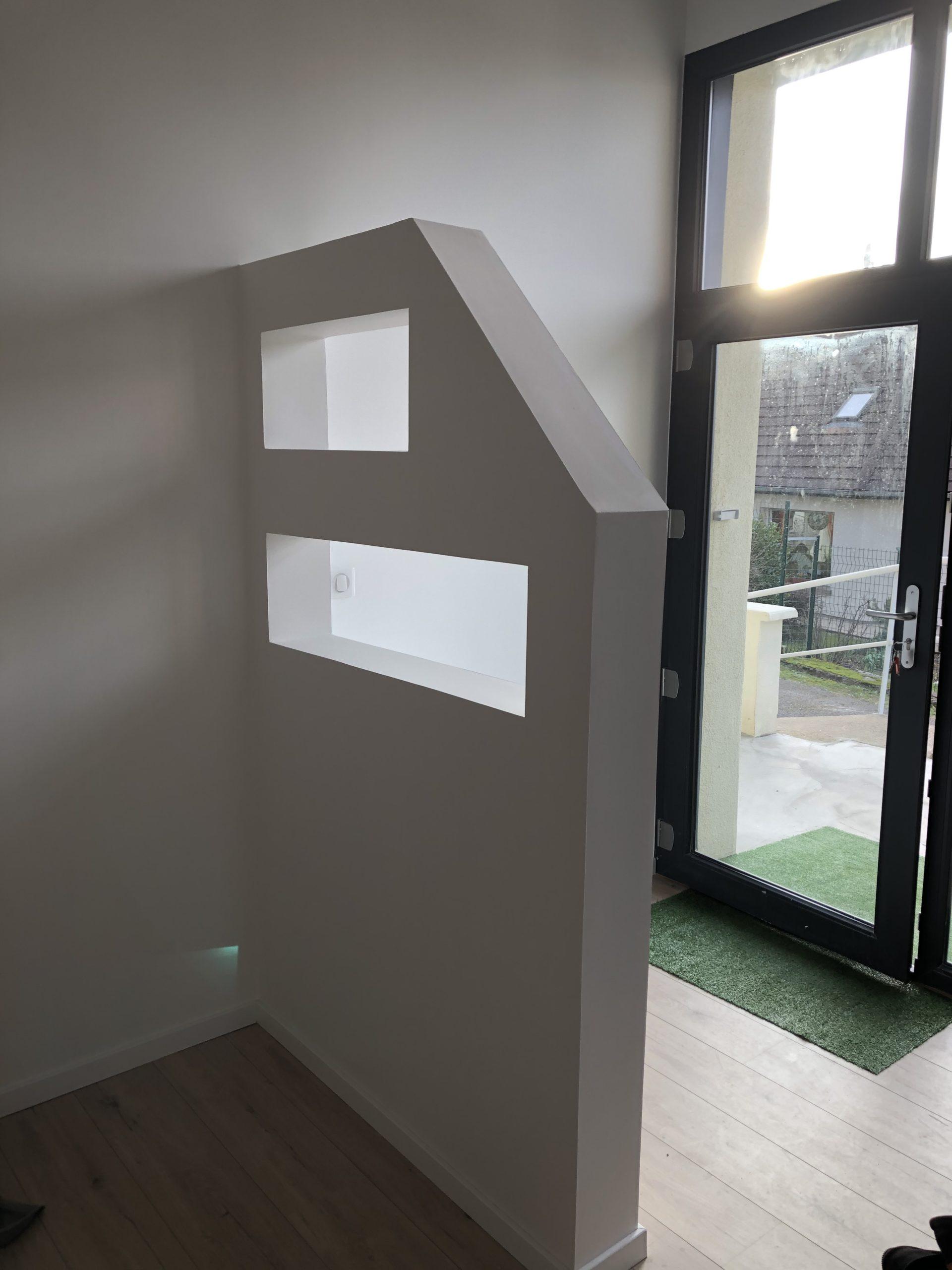 Travaux de Placo - Enduit - Peinture maison complète