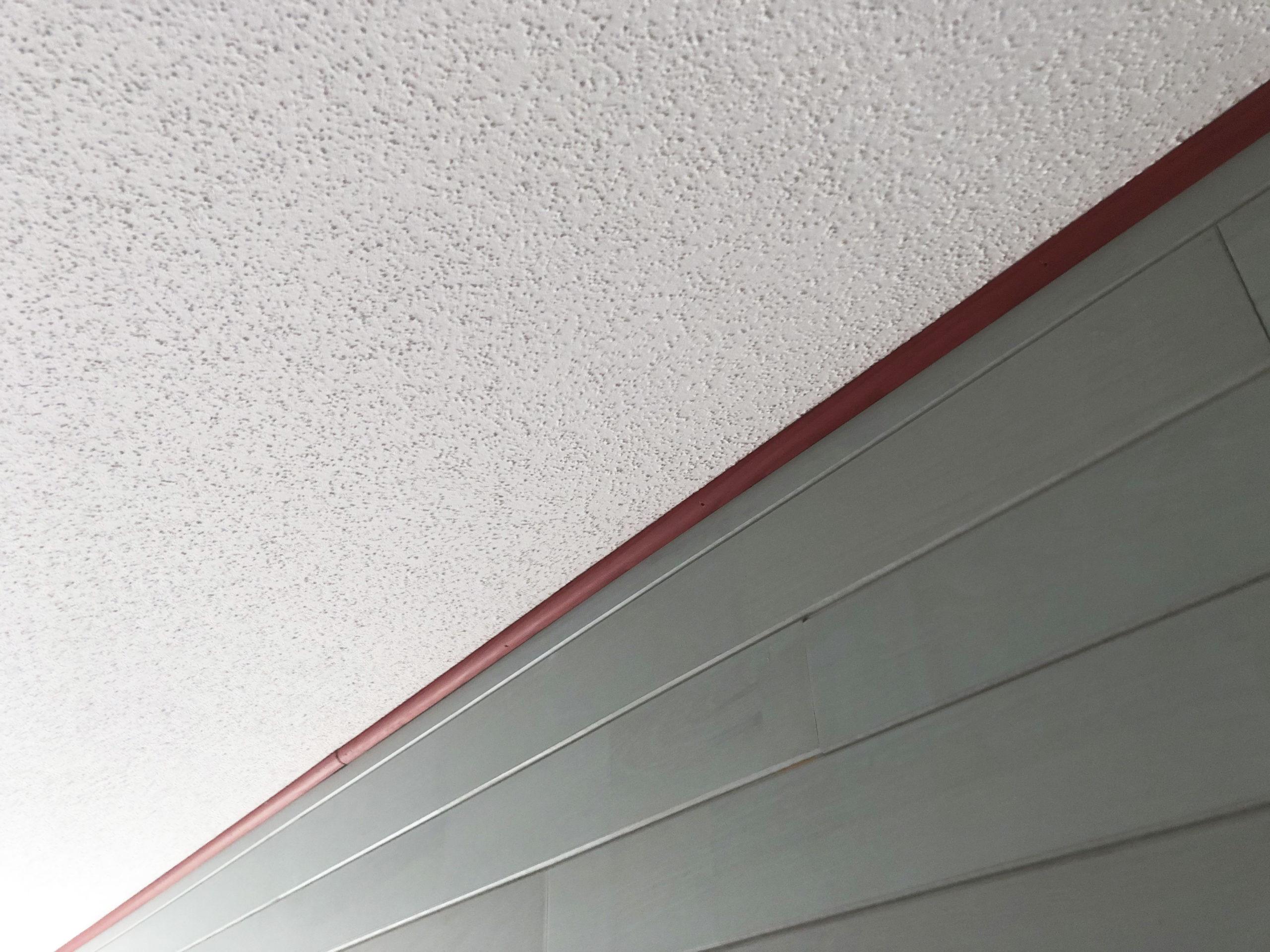 Remise en Peinture d'un plafond