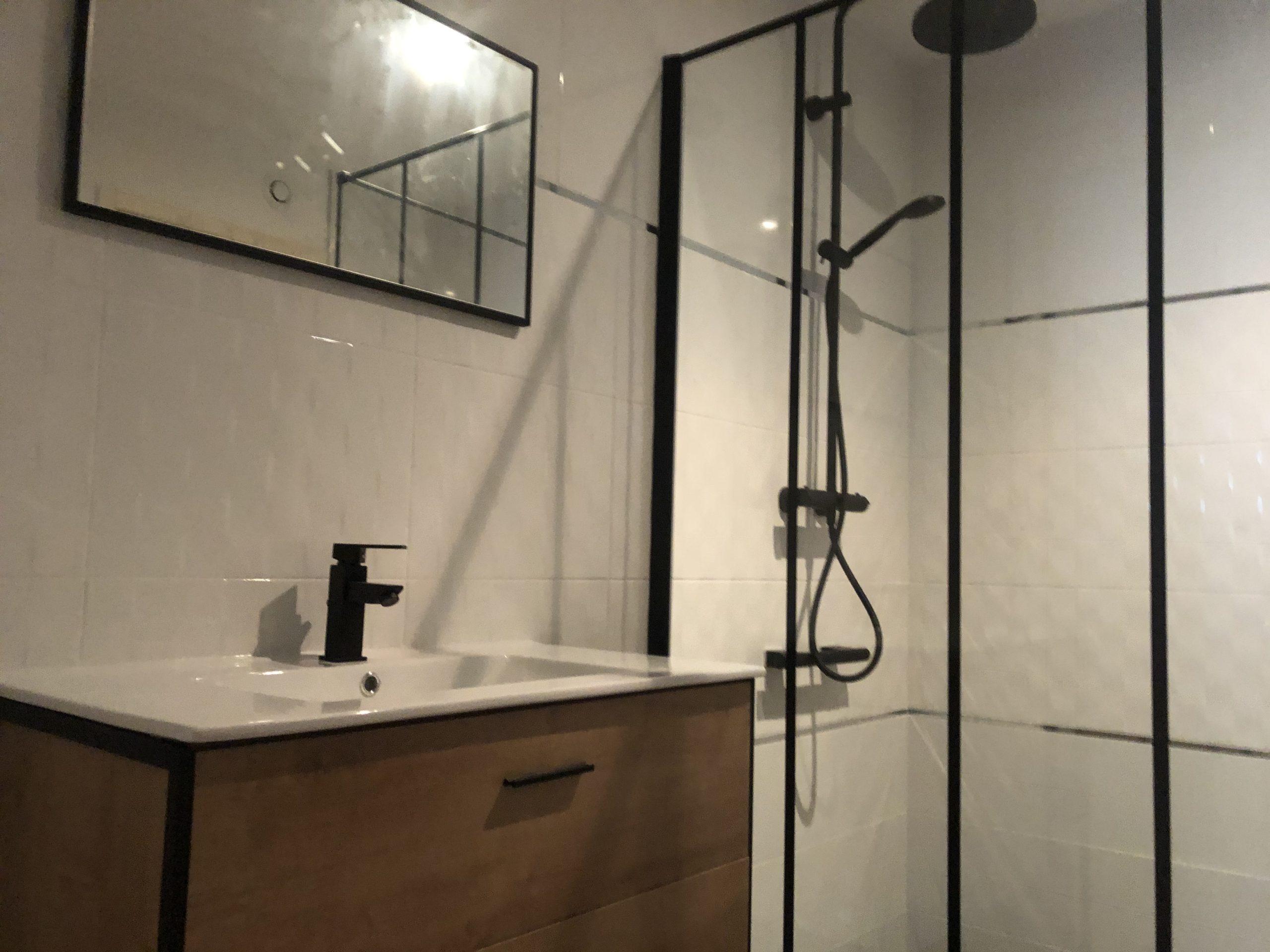 Rénovation de salle de douche